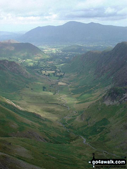 The Newlands Valley from Dale Head (Newlands)