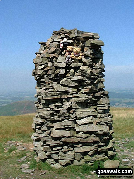 Summit cairn on Broom Fell