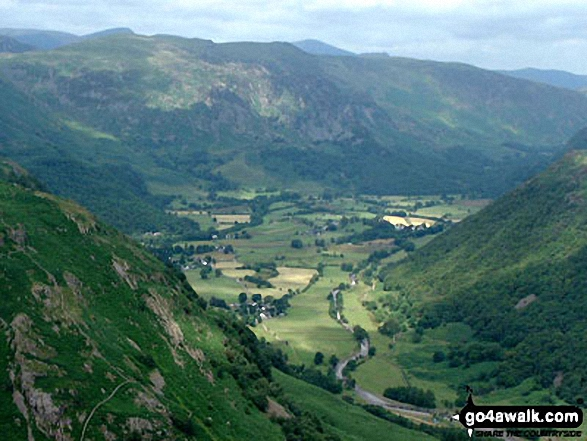 Borrowdale from Eagle Crag