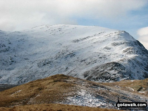 Walk c264 The Grisedale Round from Patterdale - St Sunday Crag from Birks