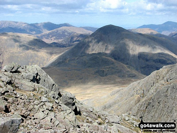 Great Gable from Sca Fell