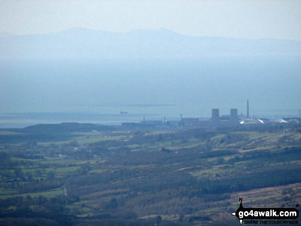 Looking towards the Isle of Man (Sellafield rather spoils the view) from Sca Fell