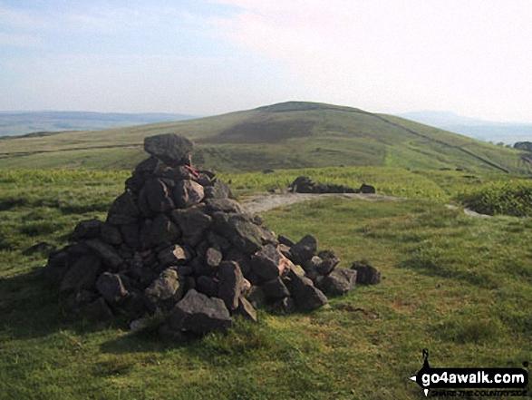 Rough Haw summit cairn
