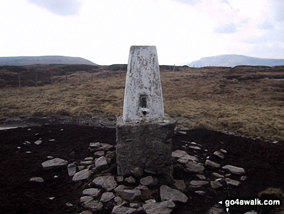 Darnbrook Fell summit trig point