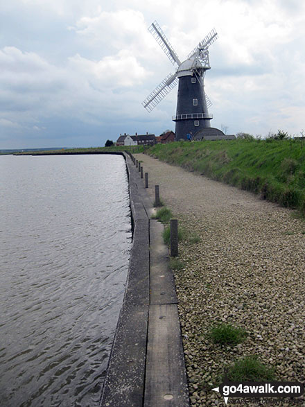 Berney Arms Drainage Mill from The Berney Arms