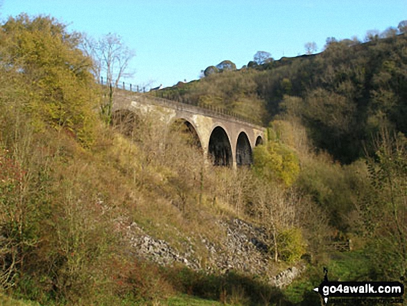 Walk Picture/View: Monsal Head Viaduct in The Peak District, Derbyshire, England by Gilbert Rowbottom (5)