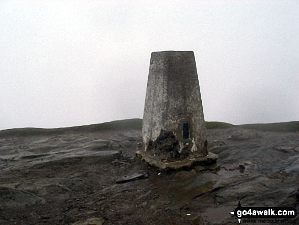 The summit of Ben Lomond