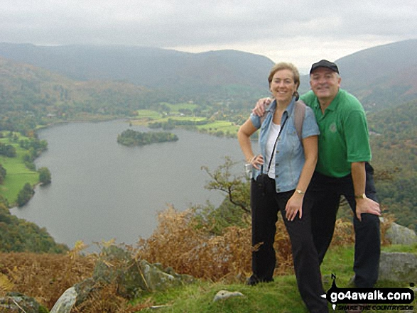 Walk Silver How walking UK Mountains in The Central Fells The Lake District National Park Cumbria    England