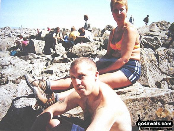 Gillian and Anthony Smith on Ben Nevis
