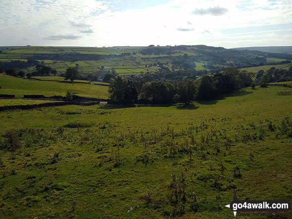 Lodge Moor (Ughill Moors) and Low Bradfield from High Bradfield Church