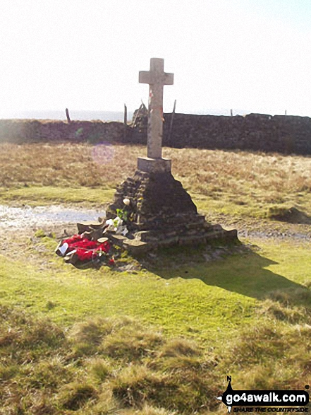 The Fox Memorial on Buckden Pike