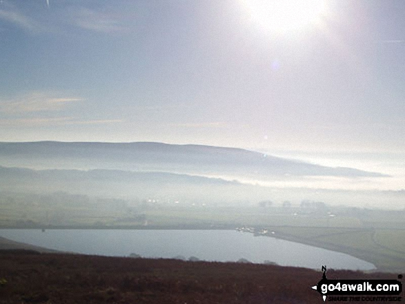 Embsay Reservoir from Embsay Moor