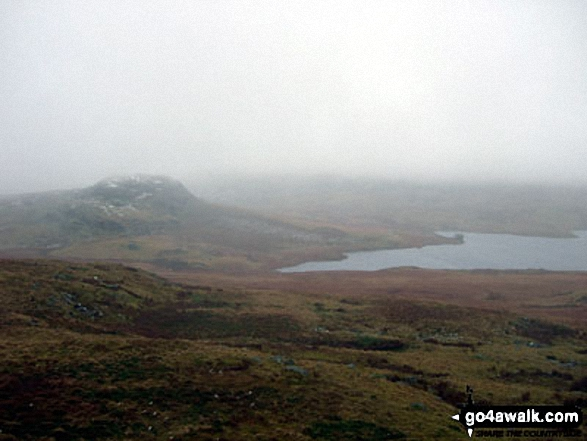 The Seat (Birker Fell) and Devoke Water from Rough Crag (Birker Fell)