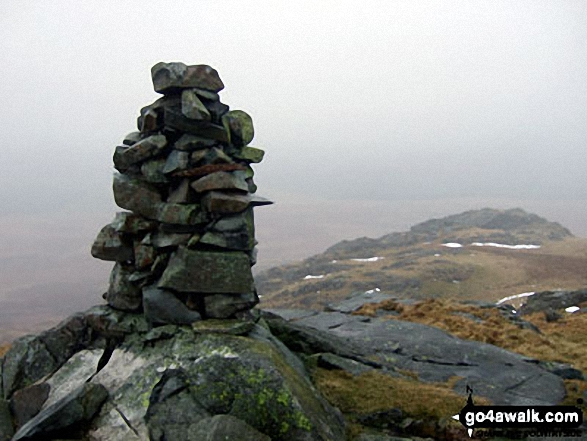 White Pike (Birkby Fell) summit cairn