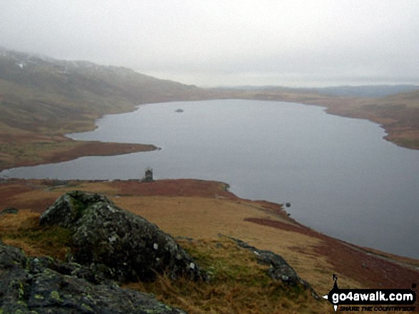 Devoke Water from Seat How (Birker Fell)