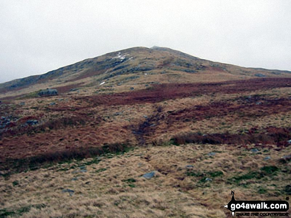 Approaching Water Crag (Birker Fell) from Rough Crag (Birker Fell)