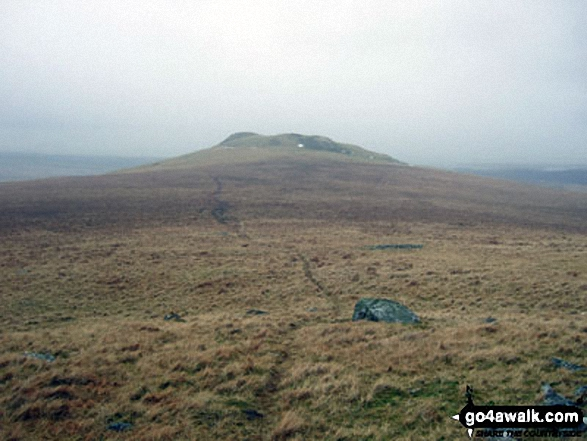 The Knott (Stainton Fell) from White Pike (Birkby Fell)