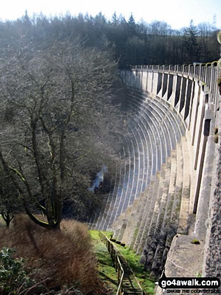 Ryburn Reservoir Dam