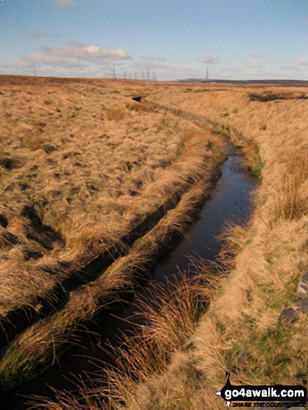 Rishworth Drain, Rishworth Moor
