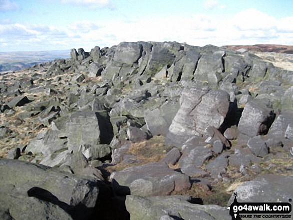 Blackstone Edge summit