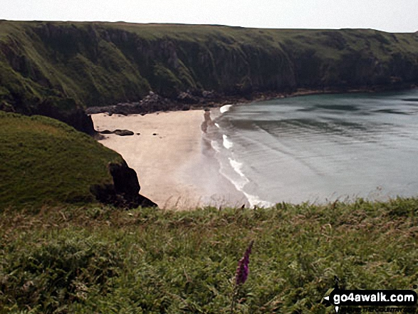 Lovely sandy bay on the St Brides Bay section of the Pembrokshire Coast