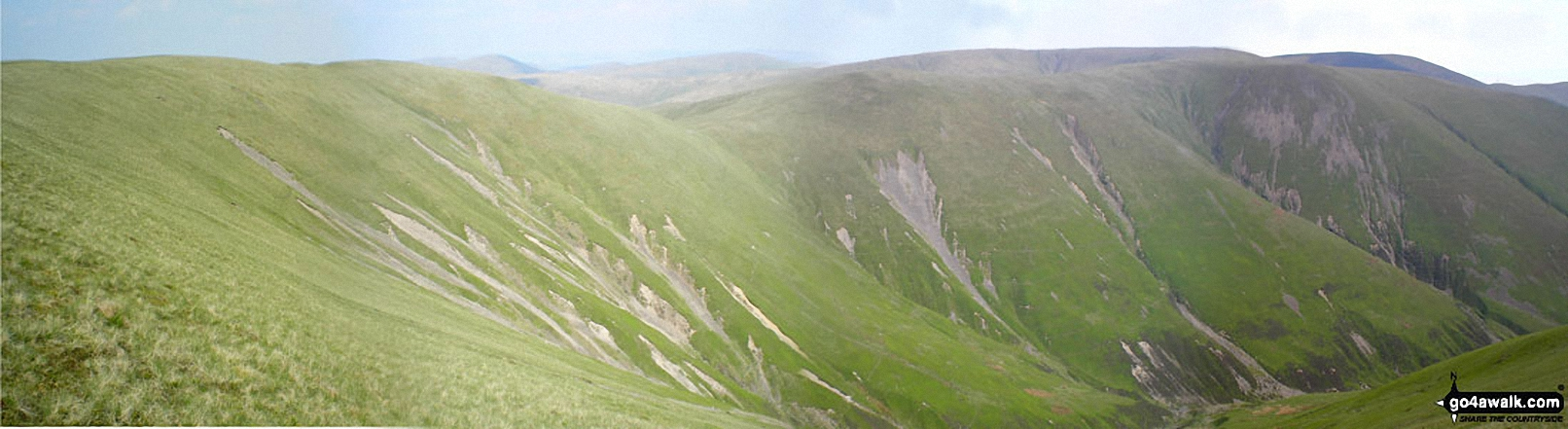 The Calf and Calders from Fell Head (Howgills)