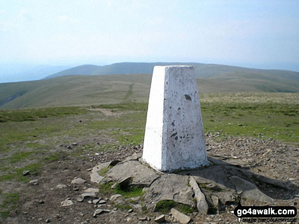The summit of The Calf,  the highest point in The Howgill Fells Photo: Graham Fleet