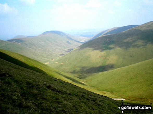 West Fell, Hooksey and the shoulder of Randygill Top from Yarlside