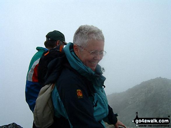 My Wife And A Polish Friend on Svinica 2301 Mt walk Tatra Mountains   walks