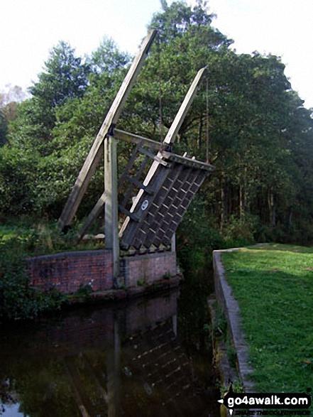 Swing Bridge on The Caldon Canal
