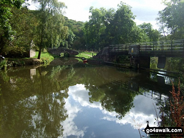 The Caldon Canal at Consall Forge