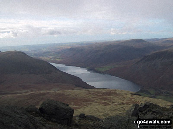 Illgill Head and Wast Water from Sca Fell