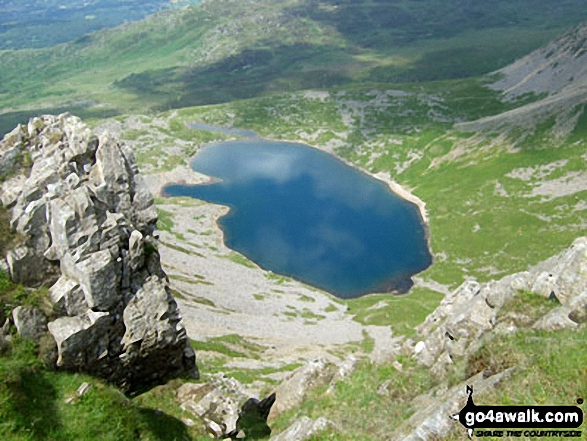 Llyn y Gadair from The Pony Path up Cadair Idris (Penygadair)