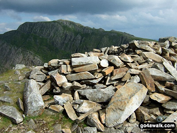 Cadair Idris (Penygadair) from Cyfrwy summit cairn