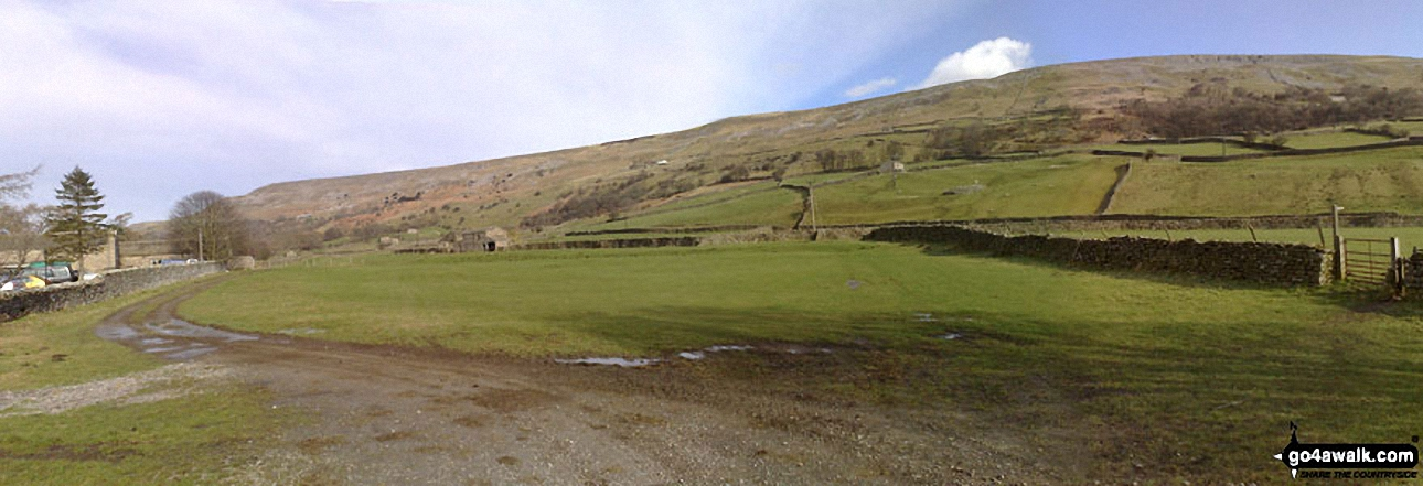 Fremington Edge from Reeth