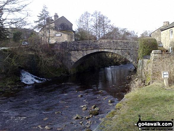The Bridge over the River Arkle at Langthwaite