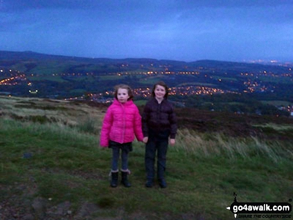 My daughters Bull Hill (Holcombe Moor)