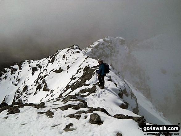 Jesper Jorgensen on the Cuillin Ridge<br>Isle of Skye