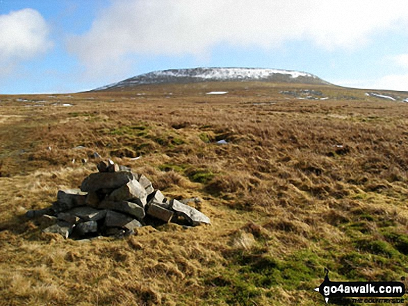 Cross Fell from a cairn on Ironwell Band