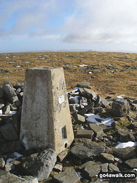 Cross Fell summit trig point