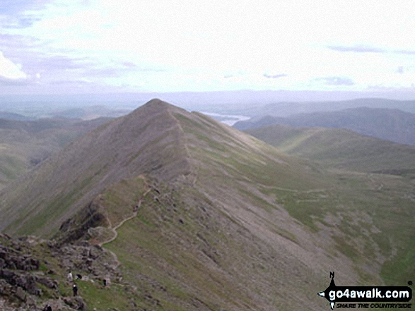 Swirral Edge (Helvellyn) and Catstye Cam