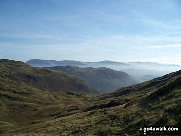 Walk c222 Swirl How and Wetherlam from Coniston - Black Sails and The Furness Fells from the summit of Swirl How