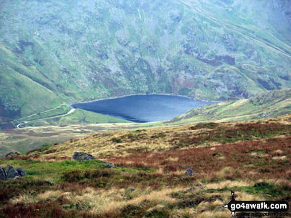 Kentmere Reservoir from Kentmere Pike