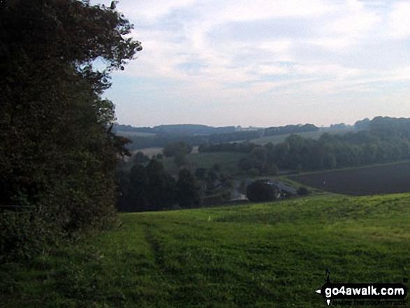 Fields near Hastingleigh