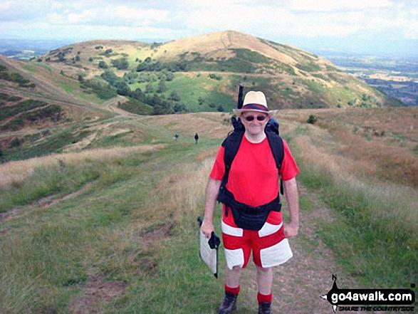 Walk wo100 Malvern (Worcestershire Beacon) from Upper Wyche - On Malvern (Worcestershire Beacon)