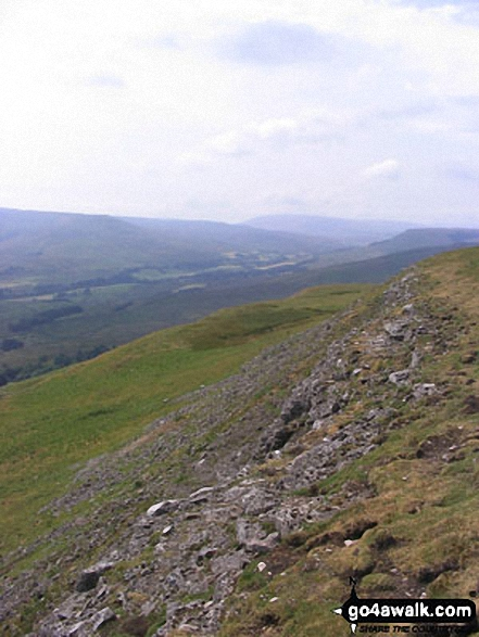 Looking North West from  Pike Hill