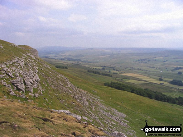 Looking South down Wensleydale from Pike Hill