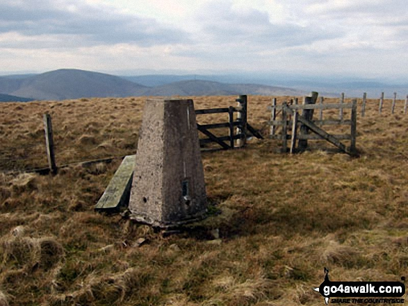 Tudhope Hill summit trig point