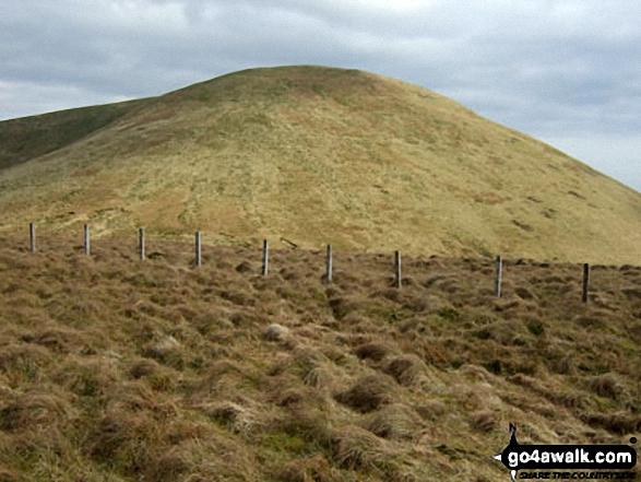 Tudhope Hill from Little Tudhope Hill