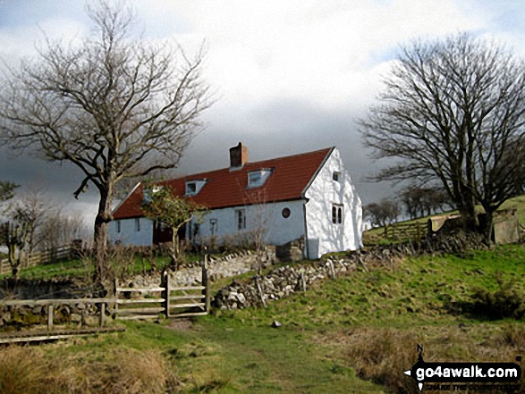 Waud House on The St Cuthbert's Way above Wooler